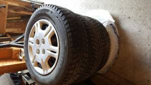 Studded winter tires for sale and rims