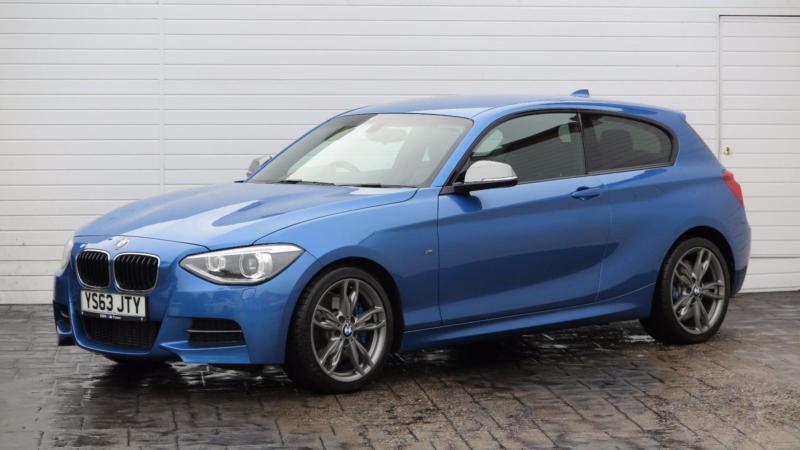 2014 BMW 1 Series 2014 63 BMW M135i 3.0 M Performance Hatchback Petrol blue Auto