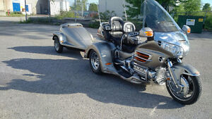 Trike and matching tear drop trailer- Negotiable