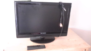 """24"""" dynex TV with remote"""