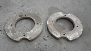 Tractor front wheel weights