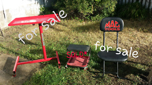 MAC TOOLS STUFFAND DRILLS & EXTRA BATTERY AND CHARGER