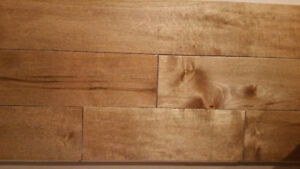 Maple Hardwood Flooring - new in box - $3.00/sq.ft. - Canadian