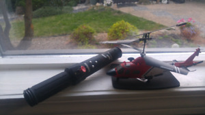 Orbit hand motion controlled helicopter
