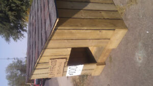 Freshly Built Non-Insulated Doghouse .. .. Price Reduced