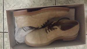 Brunello Cucinelli suede shoes sz 8 NIB