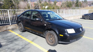 2002 -VW Jetta GL 4 Door- 5 Spd 2.0l Reduced to $1000!!!
