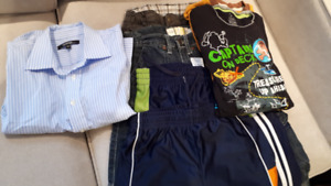 H&M,GEORGE, ATHLETIC WORKS  CLOTHES for 6 YRS OLD BOY