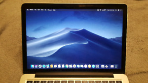 """Excellent condition Apple Macbook Pro Retina 13.3"""" with Mojave"""