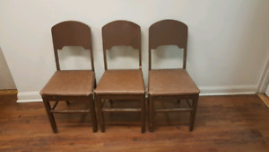 Vintage kitchen/bistro chairs