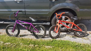 BMX Hutch Cougar 16 $50 each.