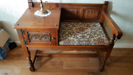 Old Charm Telephone Table