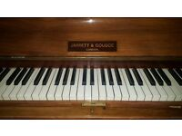 Lovely sounding and pretty Jarrett and Goudge, with stylised motif with pearl inlays. FREE DELIVERY