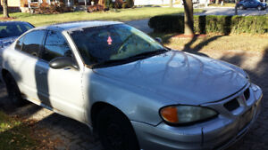 2003 Pontiac Grand Am SE Sedan - AS IS