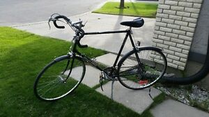 "Vintage 10 speed road bike 27"" frame tuned up"