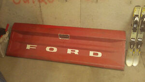 Old Model Ford Truck Tail Gate For Sale, Good Condition