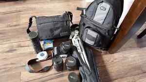 Canon Rebel T1i  Camera package