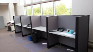 Telemarketing - Cubicles - Workstations – Desk Options