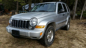 2006 Jeep Liberty SUV, Crossover,  VERY LOW KM's