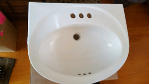 New sink for bathroom