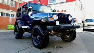 2002 Jeep Wrangler (echange possible)