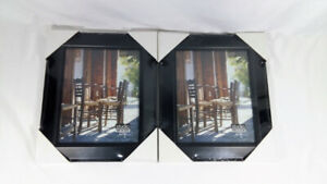 [SEALED] Black 8x10 Picture Frames 2 Pieces Studio Woods