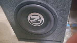 Car Subwoofer And amplifier for sale
