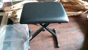 Brand New padded adjustable piano bench