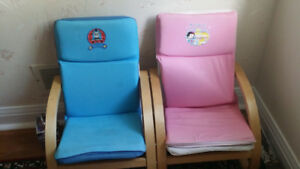 Moving Sale: A set of 2 Children Chairs