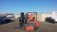Toyota 5,000 lb electric forklift