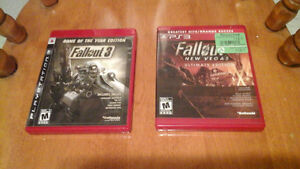 Fallout 3 game of the year edition Ps3 London Ontario image 1
