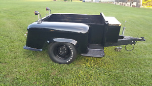 Mint .old truck box rust free and restored real cool