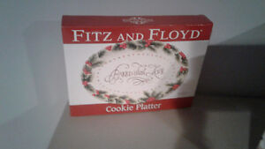 Fitz and Floyd cookie platter