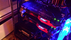 Asus republic of gamers matrix 780ti sli