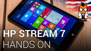 HP TABLET STREAM 7, WITH WINDOWS 8.1 - LIKE BRAND NEW!!