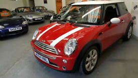 2004 54 reg MINI COOPER (CHILLI) - HALF LEATHER SEATS - LOW MILES - CHOICE OF 2