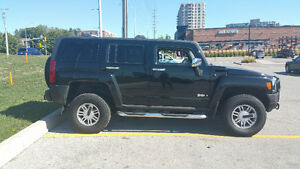 TWO TONED LEATHER INTERIOR 2006 HUMMER H3