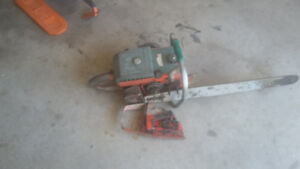 Chainsaw & parts