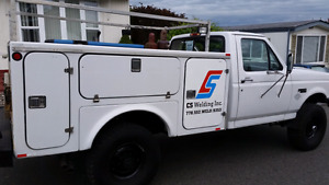 Utility Welding Truck For Sale