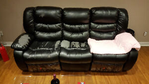 Recliner Sofa and Love-Seat