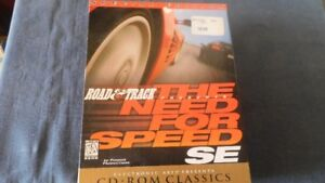 30-10 - NEED FOR SPEED S.E. COMPUTER CD ROM GAME.