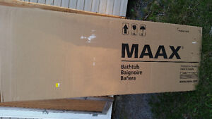 Brand new 4pc Maxx shower and tub