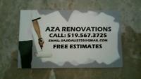 AZA RENOVATIONS (PAINTING)