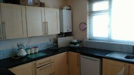 Spacious part furnished 2 bedroom flat to let