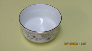 "Vintage Bone China Sugar Bowl 2 1/2"" x 4"" Royal Stafford England"