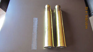 2 WW2 Artillery shell casings. Kitchener / Waterloo Kitchener Area image 1