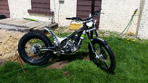 OSSA trials bike