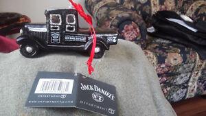 Jack Daniels Retro Truck Ornament