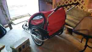 REDUCED, bike trailer for two children St. John's Newfoundland image 3
