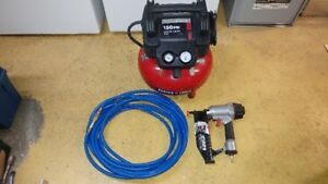 Porter Cable Compressor and Finish Nailer